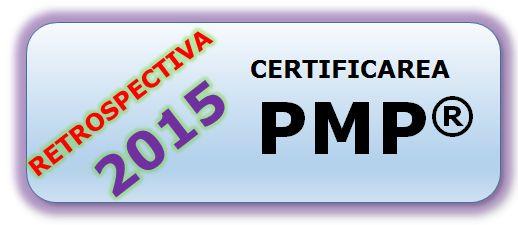 Cati certificati PMP® mai sunt inregistrati in Romania – 31 Decembrie 2015