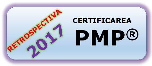 Cati certificati PMP® mai sunt inregistrati in Romania – 31 Decembrie 2017