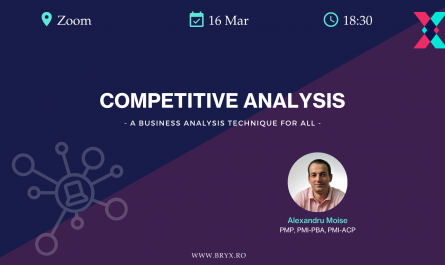 Competitive Analysis - Alexandru Moise